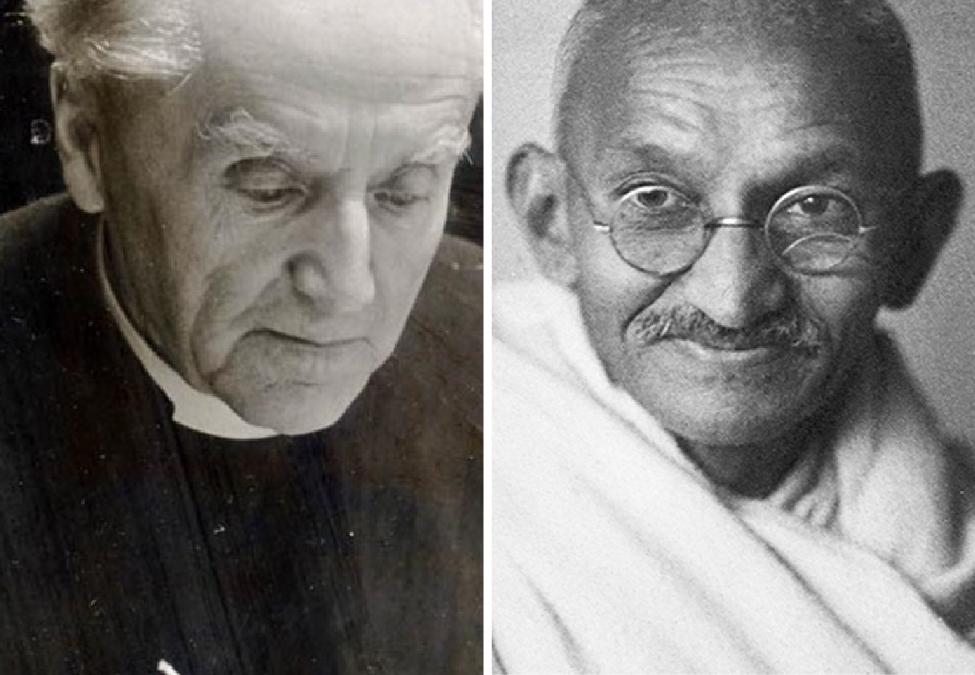 Frederick Lewis Donaldson and Mohandas Gandhi